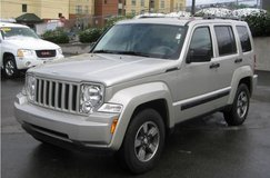 2008 Jeep Liberty 3.7L V6 4x2... From ONLY $166 p/month! in Ramstein, Germany