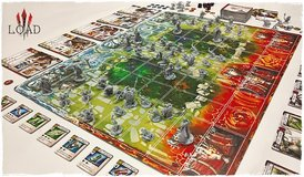 League of Ancient Defenders (LOAD) Board Game in Okinawa, Japan