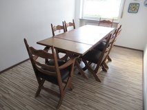Expanding table (seats 6-10) in Ramstein, Germany