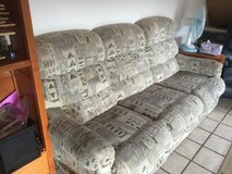 2 Bassett couches with 4 recliners total - FREE in Ramstein, Germany