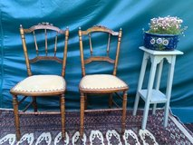 2 beautiful antique chairs from France in Ramstein, Germany