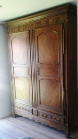 Around 1830 German baroque armoire Mosel region in Ramstein, Germany