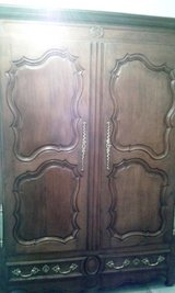 Around 1730 French baroque armoire Lorraine in Ramstein, Germany