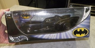 hot wheels diecast 1/18 batmobile, new in box in Okinawa, Japan