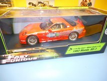 die-cast RX7 Fast & the Furious, new in box in Okinawa, Japan