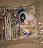 MCDONALDS GERMANY SNOOPY'S WORLD TOUR 1999 HAPPY MEAL in Ramstein, Germany