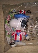 MCDONALDS USA SNOOPY'S WORLD TOUR 1999 HAPPY MEAL in Ramstein, Germany