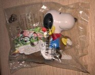 MCDONALDS AUSTRALIA SNOOPY'S WORLD TOUR 1999 HAPPY MEAL in Ramstein, Germany