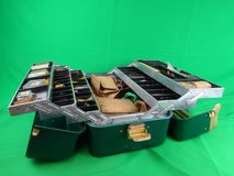 Fishing Tackle Box Filled with Supplies in Houston, Texas
