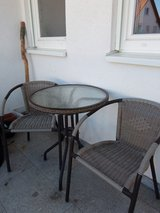 Patio/Bistro Table +2 Chairs in Ramstein, Germany