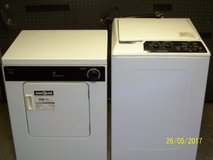 Compact GE washer and dryer set in Camp Lejeune, North Carolina