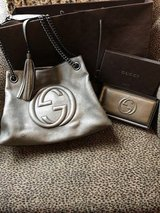 Gucci Soho w/ Chain Shoulder & Matching Wallet in Houston, Texas