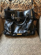 Burberry Bridle Lynther Black Leather Tote in Houston, Texas