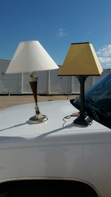 2 lamps in Fort Riley, Kansas