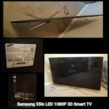 SAMSUNG 55in LED 3D SMART TV in Lawton, Oklahoma