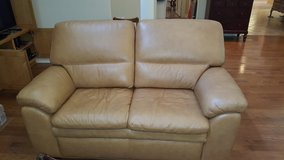 Like new leather loveseat in Houston, Texas