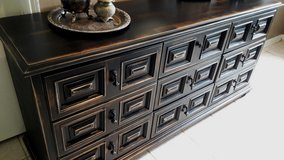 Drexel Large Rustic Black Dresser in Baytown, Texas
