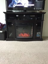 "Electric ""Fireplace"" Media Stand in Watertown, New York"