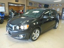 2013 CHEVROLET SONIC LTZ in Fort Lewis, Washington