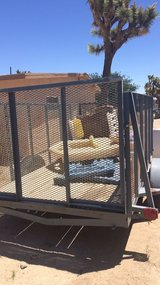 utility trailer 4 ft frame in 29 Palms, California