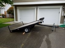 Trailer, tilt deck, ATV/Snowmobile (8'x8') in Tacoma, Washington