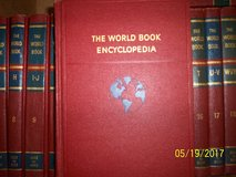 World Book Encyciopedia from the 1960's in Alamogordo, New Mexico