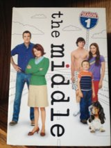 The Middle DVDs Seasons 1 & 2 in Ramstein, Germany