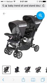 Baby Trend Sit n' Stand Double Stroller in Aurora, Illinois