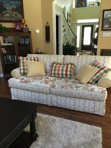 Couch / oversized chair and ottoman in Kingwood, Texas