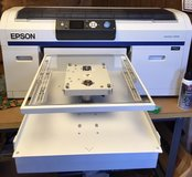 Epson F2000 Sure color with white Direct to Garment Printer in Shreveport, Louisiana