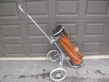 Bag Boy Golf Cart and Arnold Palmer Golf Bag in Naperville, Illinois