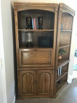 Real Wood!! 4 Piece Oak Wall Unit in Baytown, Texas