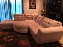 Sectional Couch Microfiber in Okinawa, Japan