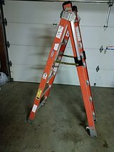combination ladder fiberglass 6ft to 12 extension in Oceanside, California