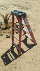 Ladder and stuff in 29 Palms, California