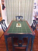Dining table with 4 chairs in Okinawa, Japan