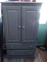 Nice TV / whatever cabinet cute for kids room white in 29 Palms, California