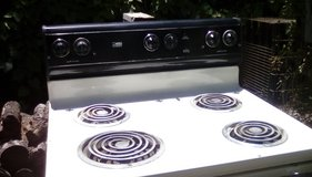Whirlpool electric stove in Baytown, Texas