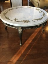 Marble coffee table in Naperville, Illinois