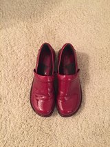 Red patent leather BOC shoes.  Size 7 in Wheaton, Illinois