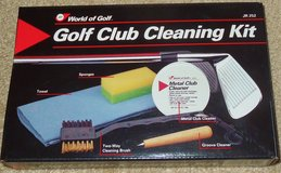JEF WORLD OF GOLF- CLUB CLEANING KIT- POLISHING BRUSH SPONGES, + more in Naperville, Illinois