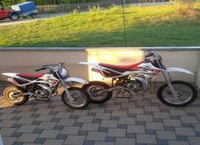 Mini Dirt Bikes in Hohenfels, Germany