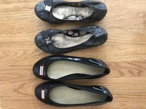 Hunter Flats and Coach ballet flats in Naperville, Illinois
