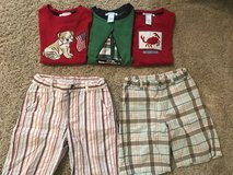 Janie and Jack 4th of July boys summer clothes size 4 in Naperville, Illinois