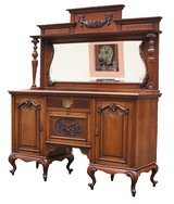 English Victorian Mahogany Sideboard in Ramstein, Germany