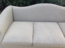 Hickory Chair Green Chippendale Sofa / Couch with 5 Accent Pillows in Westmont, Illinois