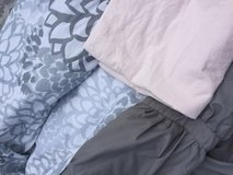 Pink & gray twin bedding set in Fort Rucker, Alabama