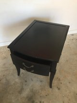 Solid Wood End Table with pull out drawer in Warner Robins, Georgia