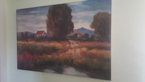 TUSCAN SCENE ON CANVAS in 29 Palms, California
