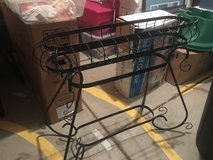 Metal plant stand - indoors or outdoors in Joliet, Illinois